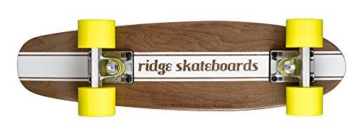 Ridge Skateboards Maple Mini Cruiser- NR4 Skateboard, Giallo