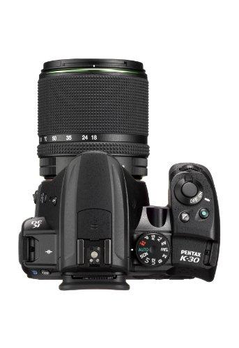 Pentax-K-30-Fotocamera-e-Obiettivo-DA-18-135mm-WR-Sensore-CMOS-APS-C-da-1649-Megapixel-Display-LCD-da-3-Video-Full-HD-Nero