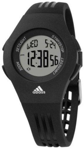 Adidas Women's Furano ADP6020 Black Resin Quartz Watch with Digital Dial