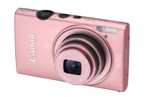 Canon IXUS 125 HS Digital Camera - Pink (16.1MP, 5x Optical Zoom) 3.0 inch LCD