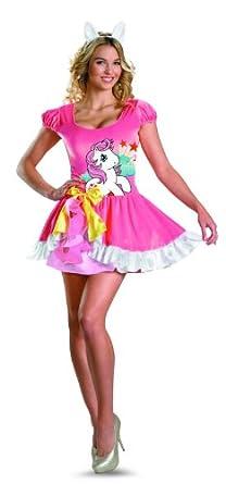 Disguise My Little Pony Sundance Sassy Costume, Pink/White, Large/12-14