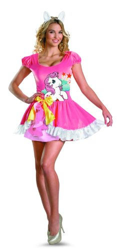 Disguise My Little Pony Sundance Sassy Costume, Pink/White, Large/12-14