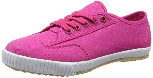 Feiyue Fe Lo Plain Tonal Sneaker, Donna, Rosa (Beetroot/Gum), 38