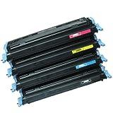 UCI CANON CRG 707 / Q6000A - Q6003A [ 1 x Set ] Non OEM Remanufactured Compatible Toner Cartridge For CANON LBP5000 LBP5100 LBP 5000 5100, also Compatible with HP ( Hewlett-Packard ) Colour LaserJet 1600, 2600, 2600n, 2605, 2605dn, 2605dtn, CM1015 MFP, C