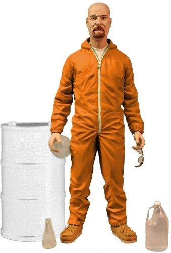 """Breaking Bad Walter White 7"""" Figure in Hazmat Suit"""