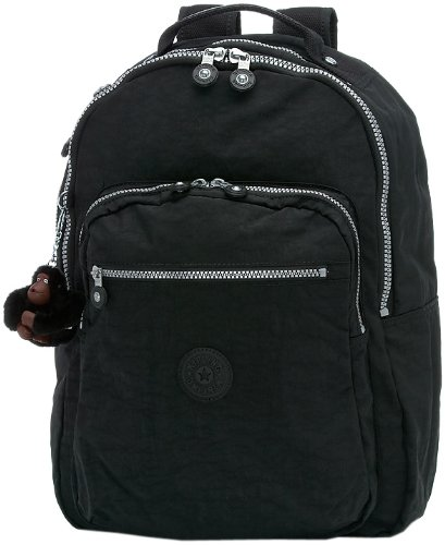 Kipling Seoul Large Backpack With Laptop Protection,Black,One Size