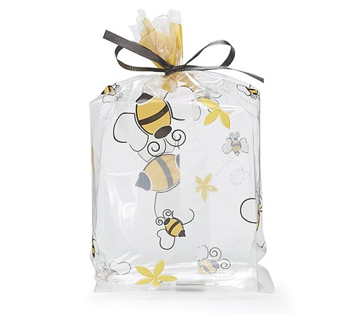 Buzz Bumble Bee Birthday Party Baby Shower Favor Treat Cello Bags 4X2X9 (10)