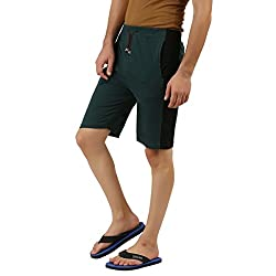 Hotfits green black graphic summer shorts