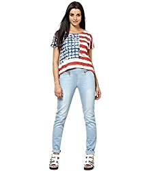 ESPRESSO WOMEN TOPS - US FLAG
