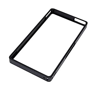 Brain Freezer Luphie Aluminum Metal Bumper Frame Case Cover For Sony Xperia Z L36H Black