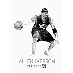 coloring pages of allen iverson-#12