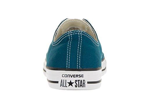 CONVERSE Chuck Taylor All Star Lo Ox Blue Lagoon Sneakers 153867F Men Shoes (4 Men/ 6 Women)