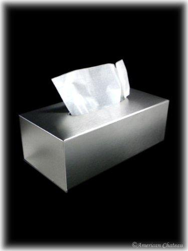 18/10 Bath Stainless Steel Kleenex Dispenser Tissue Box Cover Holder