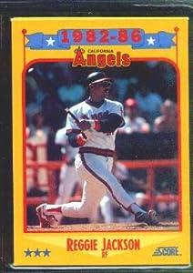 1988 Score #503 Reggie Jackson