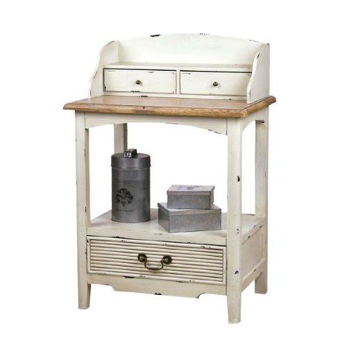 コンソールテーブル シャビー フレンチアンティーク調 ブロッサム プチコンソール COL-029