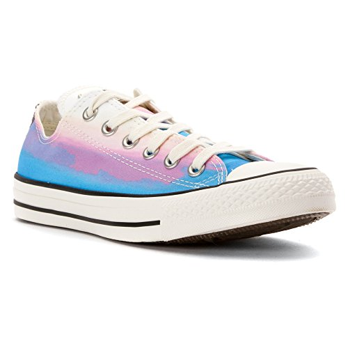 Converse Womens Chuck Taylor All Star Daybreak Low Daybreak Pink/Motel Pool/Egret Sneaker - 7.5