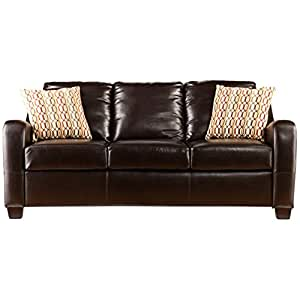 SEI Montfort Stationary Sofa Chocolate