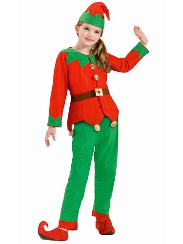 Kids Elf Costume - Child (8-12)