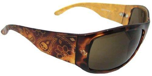 Bobster Women'S Highway Honey Oversized Sunglasses,Tortoise Shell Frame/Brown Lens,One Size