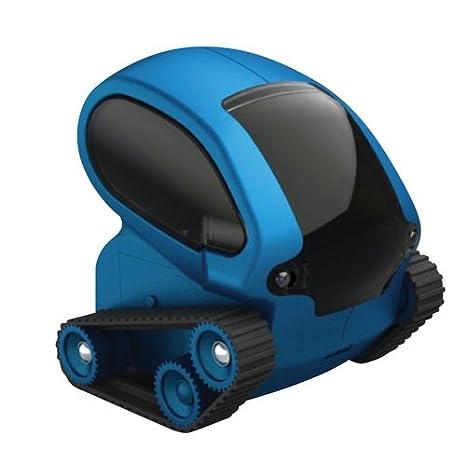 Deskpets 6321 Jeu Educatif et Scientifique Robot Télécommande Tankbot Bleu
