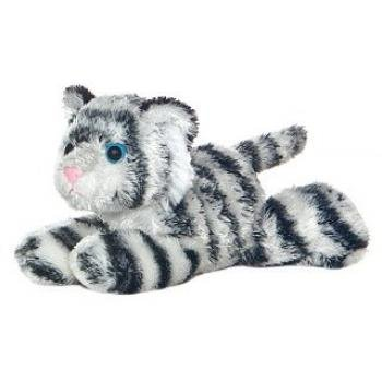 "Aurora Plush Shazam White Tiger Mini Flopsie 8"" by Aurora"