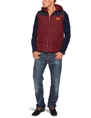 Bench Kitcho Men's Gilet Burgundy Large