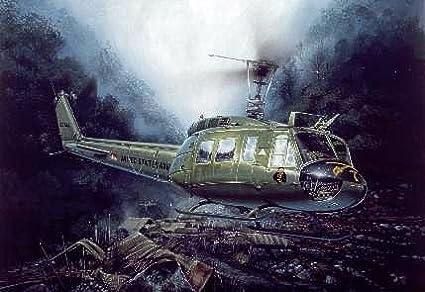 Maquette hélicoptère : UH 1D