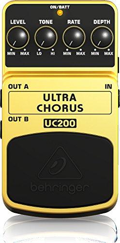 Behringer ULTRA CHORUS / UC200 Pédale d'effet chorus (Import Royaume Uni)