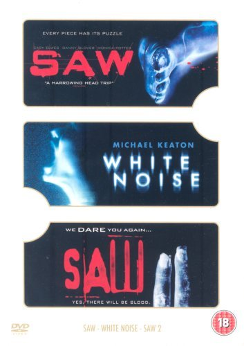 Saw/Saw II/White Noise [DVD] by Donnie Wahlberg