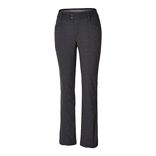 Royal Robbins Women's Herringbone Discovery Strider Pants,CHARCOAL,6-Long (Royal Robbins Womens Pants compare prices)