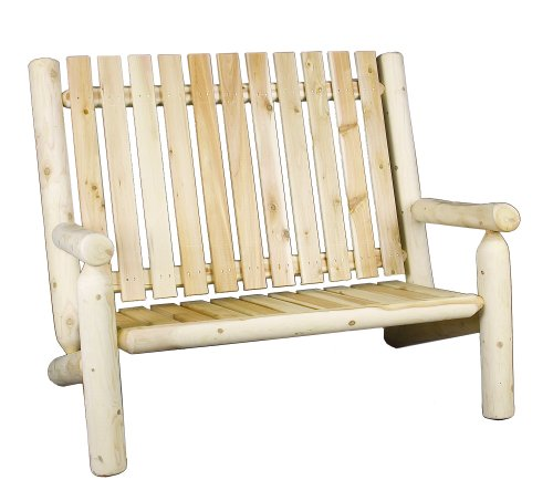 Cedarlooks 010006B Log High Back Bench