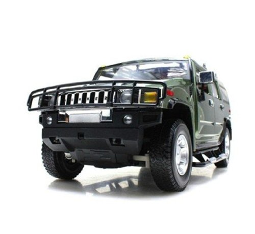 Big Dragonfly Superior 1:10 Scale Hummer H2 R C Radio Remote Control Toy Car Model Toy Car with Lights for Boys Army Green Window Box Package (Hummer Rc compare prices)