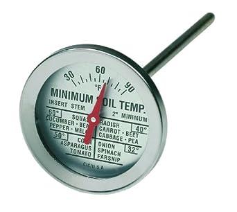 Cooper atkins 2240 05 5 soil bi metal thermometer 2 5 for Soil thermometer
