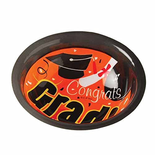 Dozen Graduation Theme Plastic Party Bowls