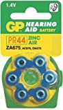 Ukdapper - 1 box 10 cards GP Batteries Zinc Air Hearing Aid Batteries GPZA675-D6 Bulk