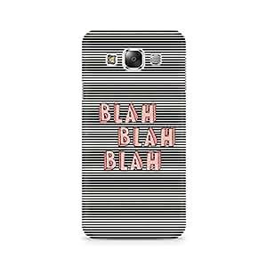 Ebby Blah Blah Classy Premium Printed Case For Samsung E5