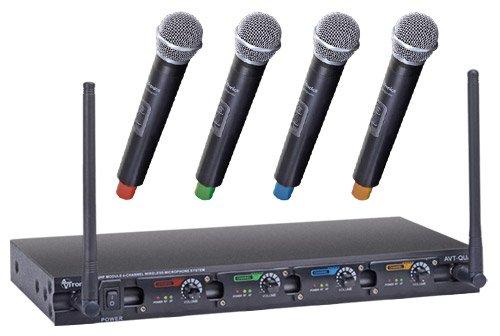 Quad Microphone System 4 Handheld
