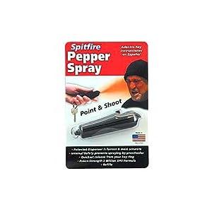 Spitfire Brand Personal Defense Pepper Spray - 4.5 grams (black dispenser)