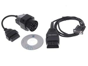 Tinxi OBD OBD2 OBD 2 ADS GT1 Ediabas Inpa Diagnose Interface für BMW 1 Series E87 BMW 3 Series u.s.w.