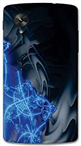 Timpax protective Armor Hard Bumper Back Case Cover. Multicolor printed on 3 Dimensional case with latest & finest graphic design art. Compatible with only Google Nexus-5. Design No :TDZ-20361