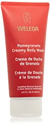 Weleda Creamy Body Wash Pomegranate 6.8 Ounces