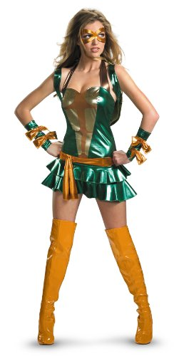 Deluxe Sassy Michelangelo Costume - Large - Dress Size 12-14