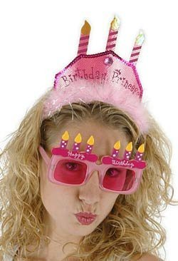 Princess Pink Cake Headband - 1