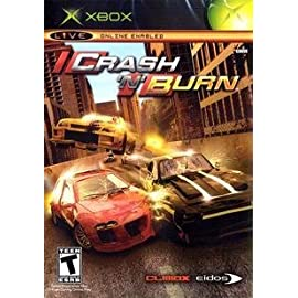 EIDOS INTERACTIVE Crash 'N Burn ( Xbox )