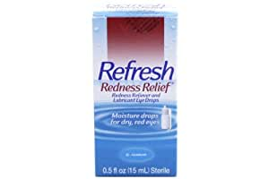 Refresh Redness Relief, Lubricant Eye Drops .5 fl oz (15 ml)