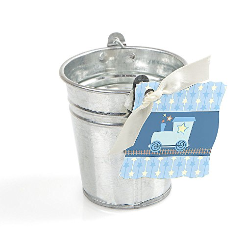 Train - Tin Bucket And Tag Party Favor Kit - 20 Ct front-721092