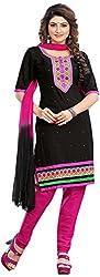 MINU Women's Unstitched Dress Material (Smart Style_1001)