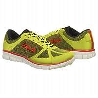 フィラ Athletics Fila Men's SPEEDWEAVE RUN Lime Red 男性 メンズ 靴 シューズ 並行輸入