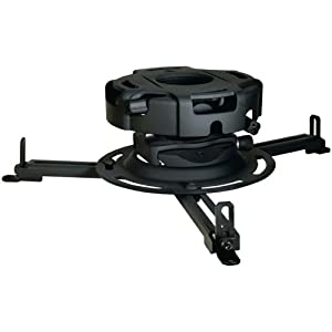 Peerless PRGUNV Precision Gear Universal Projector Mount - Black