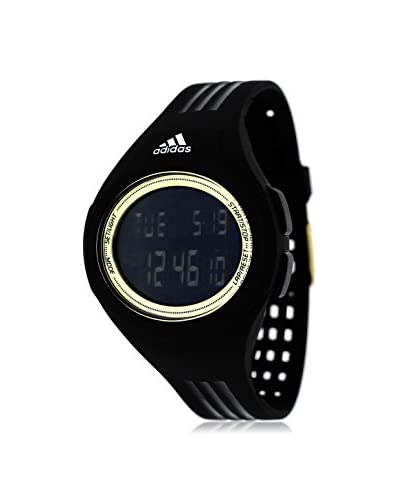 Adidas Unisex ADP3158 Stainless Steel Watch With Black Polyurethane Band